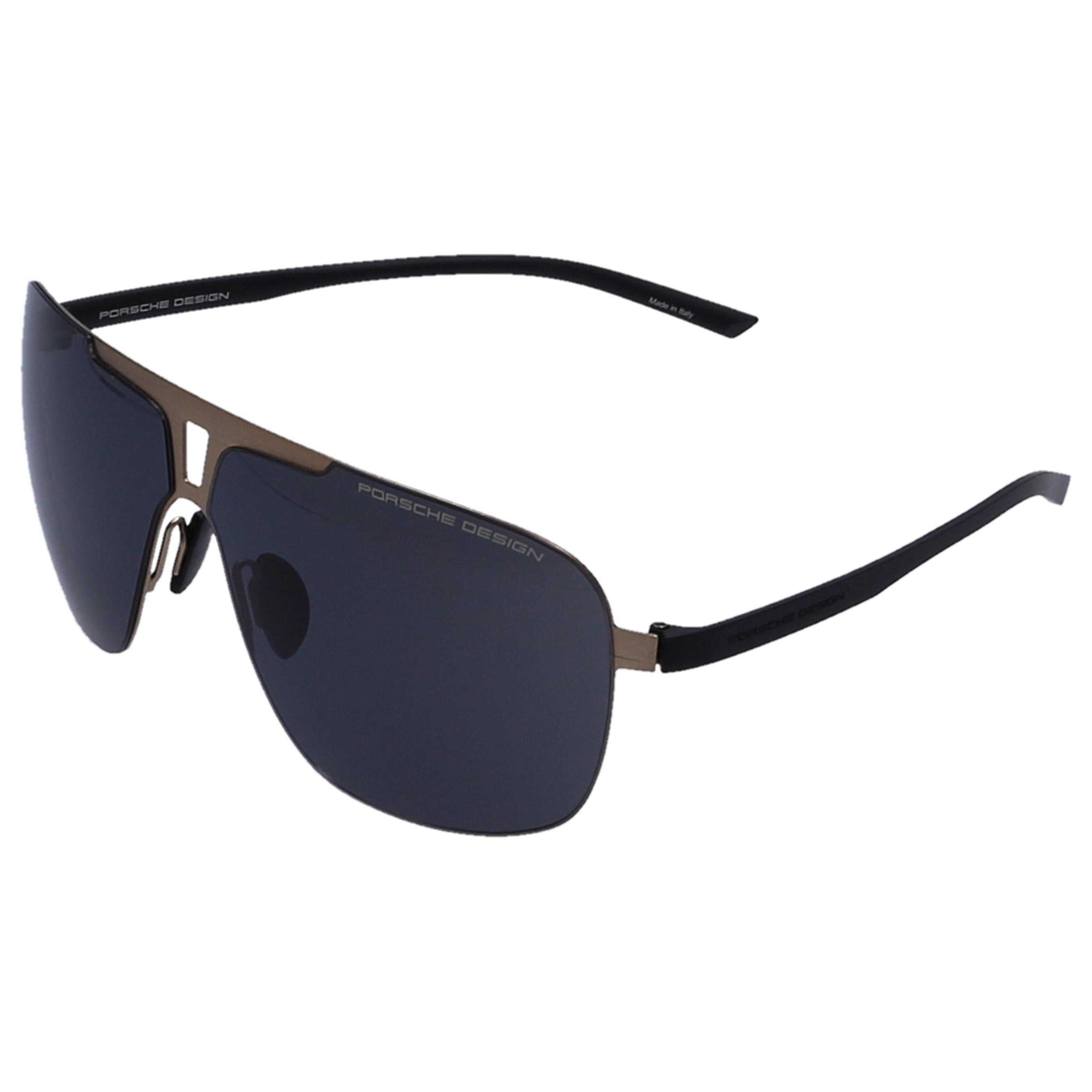 33d96bd6a2c Porsche Design - White Men Sunglasses Aviator 8655 Acetate Black for Men -  Lyst. View fullscreen