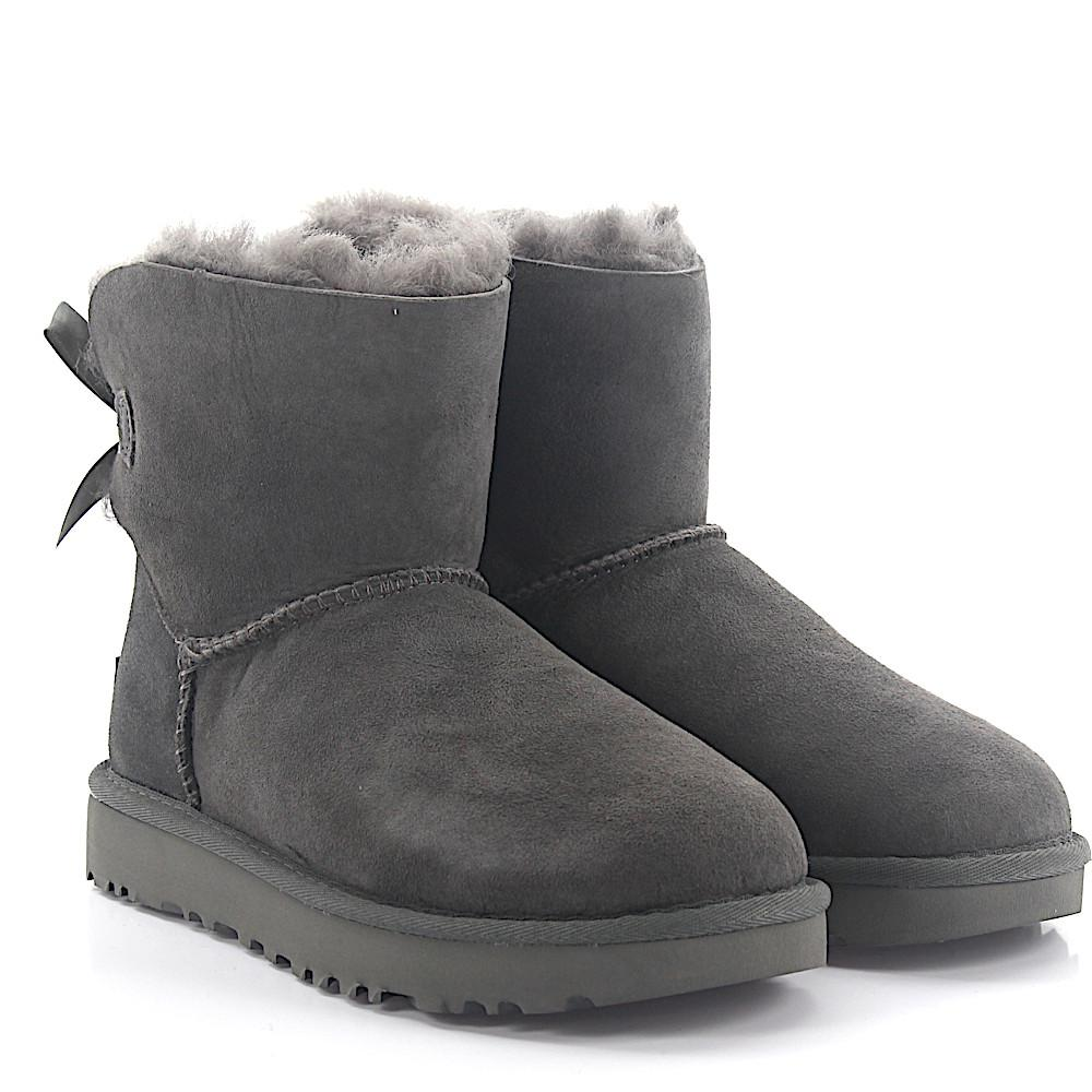 UGG Ankle Boots BAILEY BOW 2 suede lamb fur Cheap Usa Stockist Footlocker Discount Real With Credit Card Cheap Price Discount For Nice HQ3YDZE0