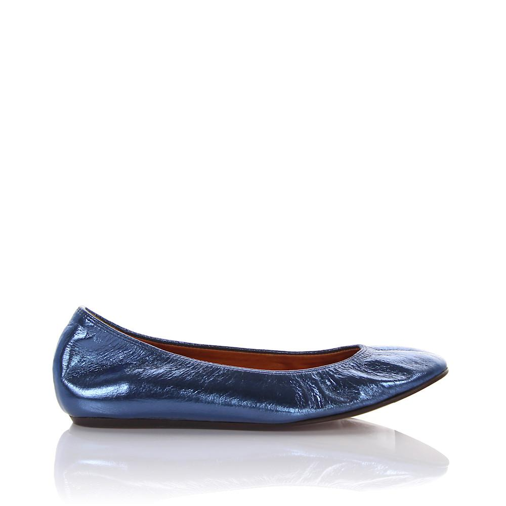 Lanvin Ballerinas LAMI patent leather