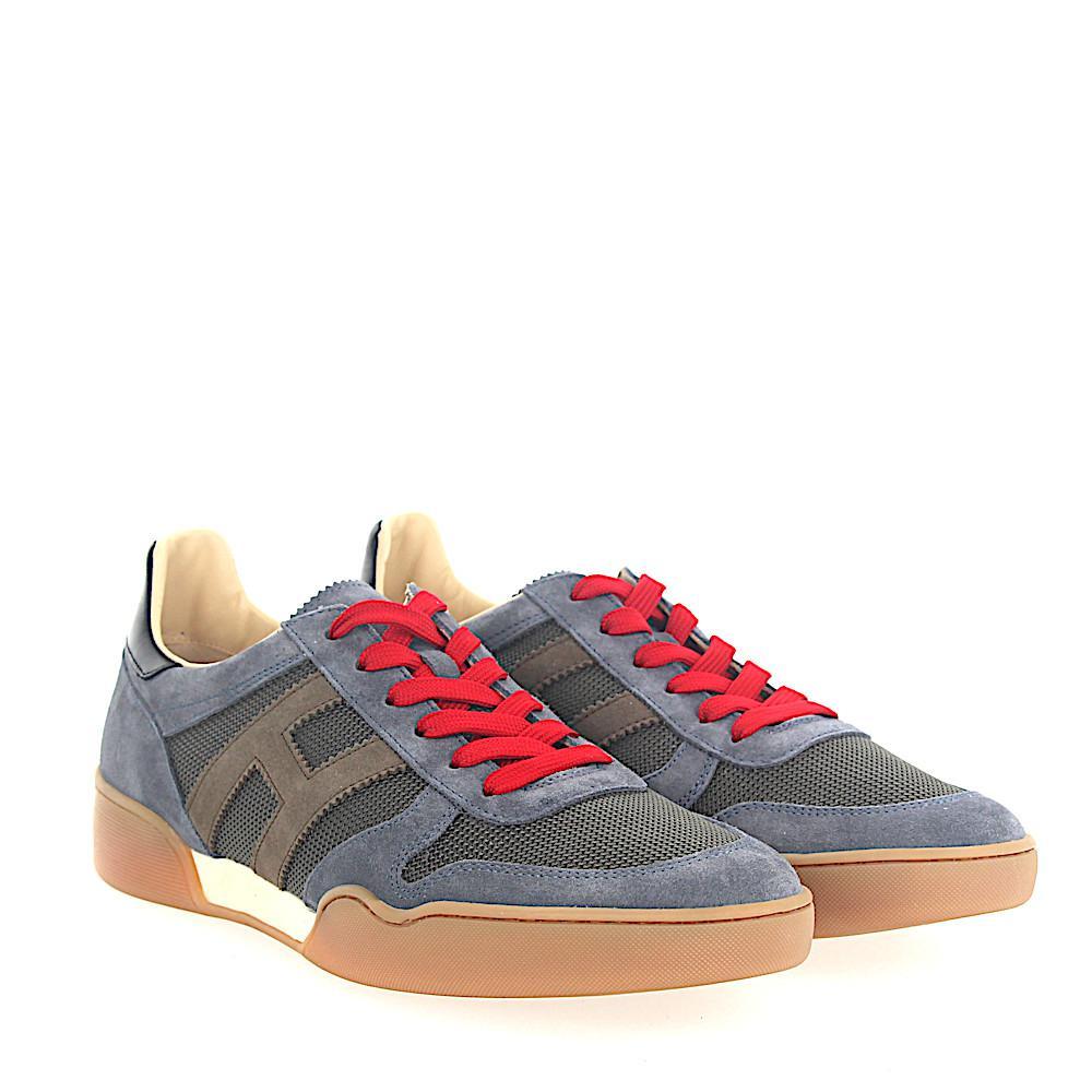 Gray and blue H357 sneakers Hogan Fs9KBdJ