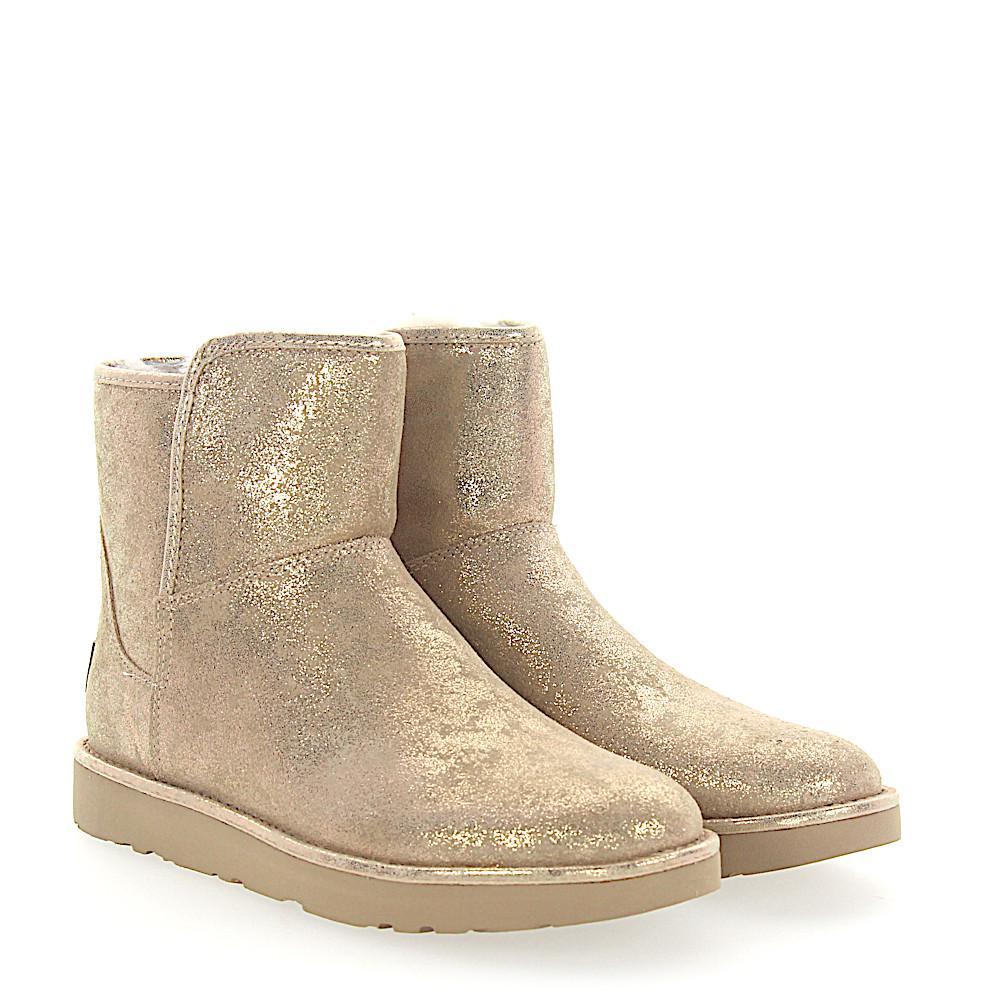 UGG Boots ABREE MINI suede finished 4kLbkbI