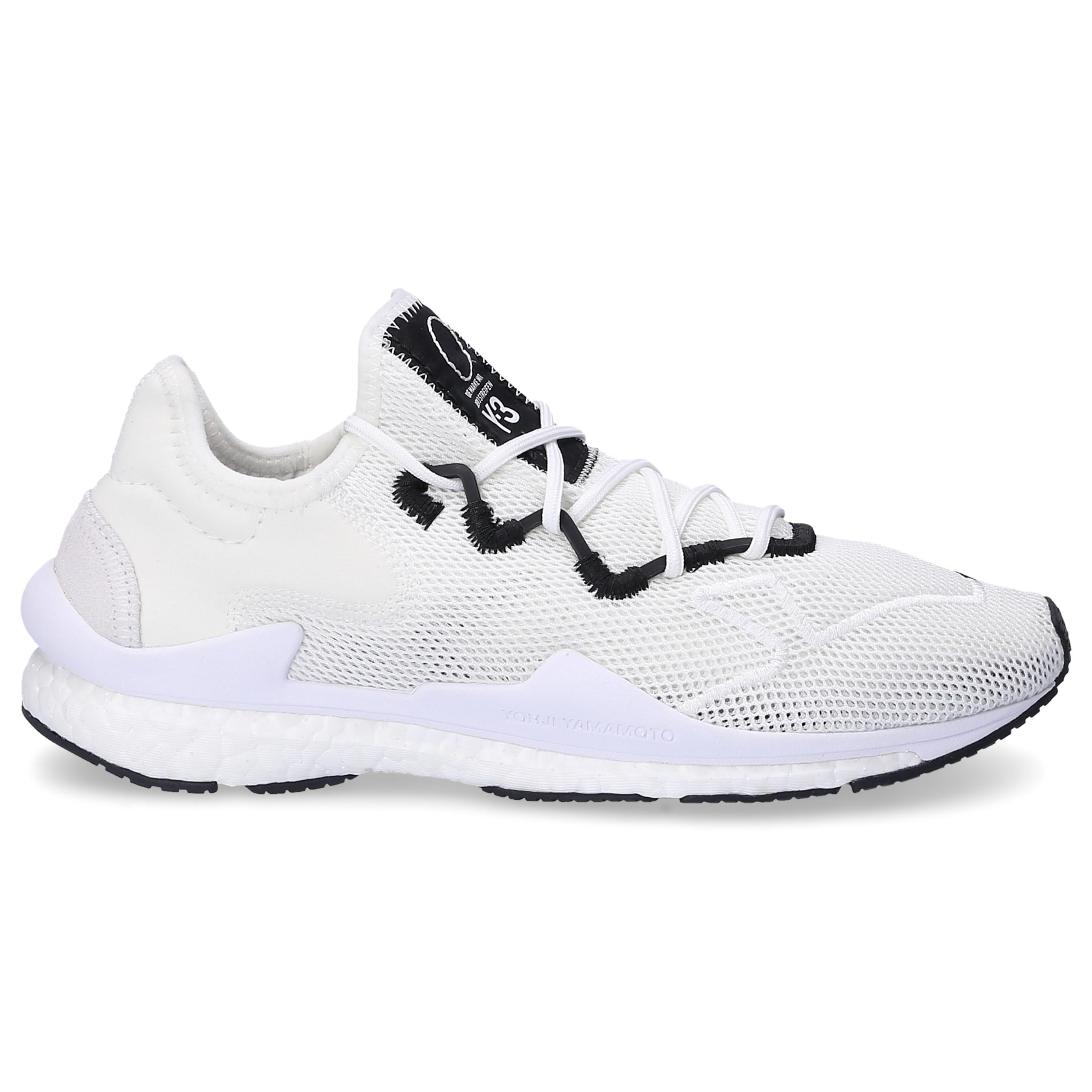 finest selection aaabd 37d78 Y-3 Low-top Sneakers Adizero Runner Mesh Neoprene Logo White in ...