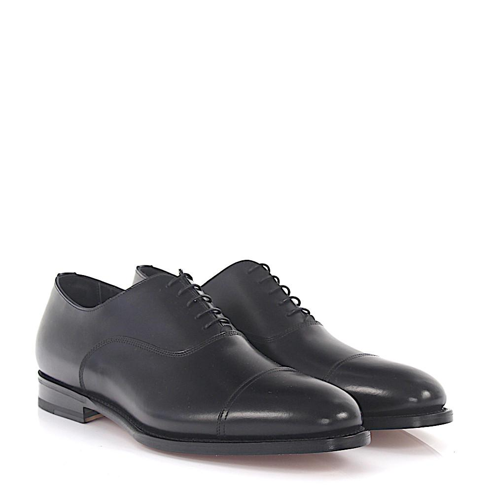 santoni Oxford 13162 leather goodyear welted
