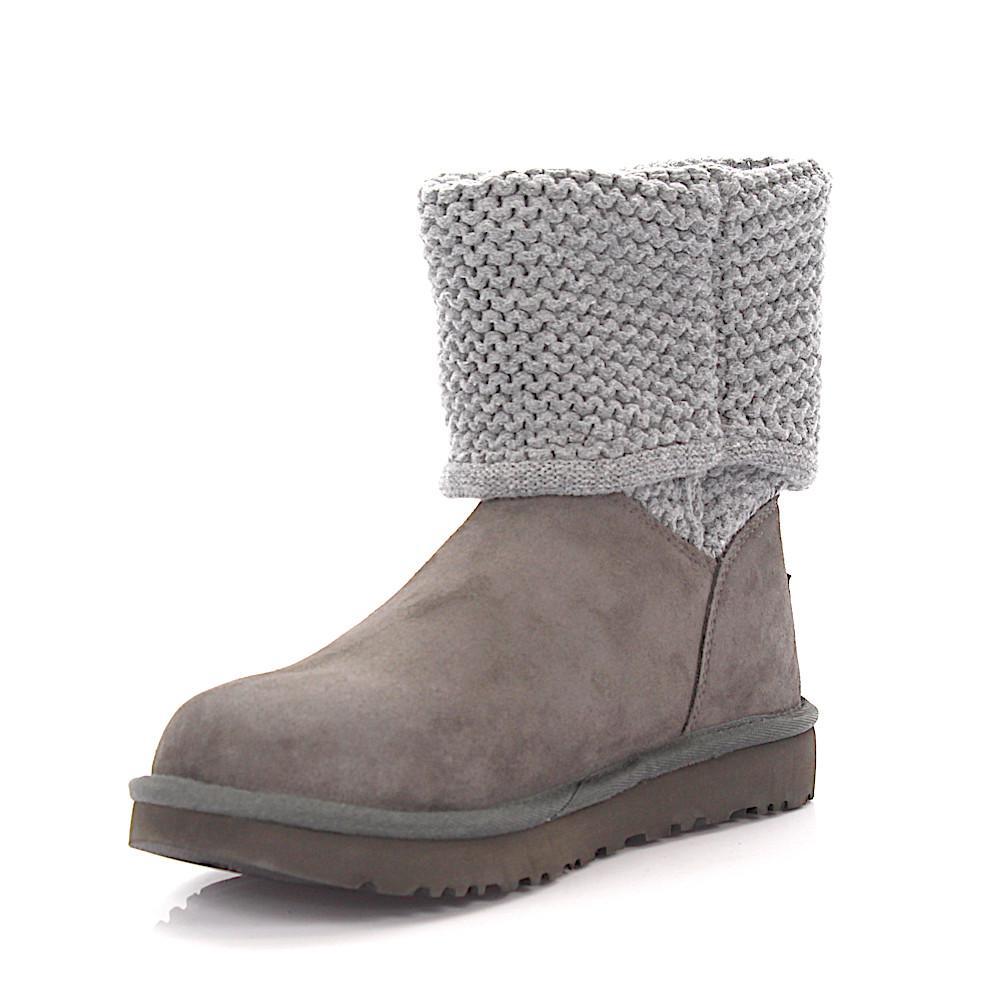 UGG Boots Shaina suede knit lamb fur aZ2sEj3w
