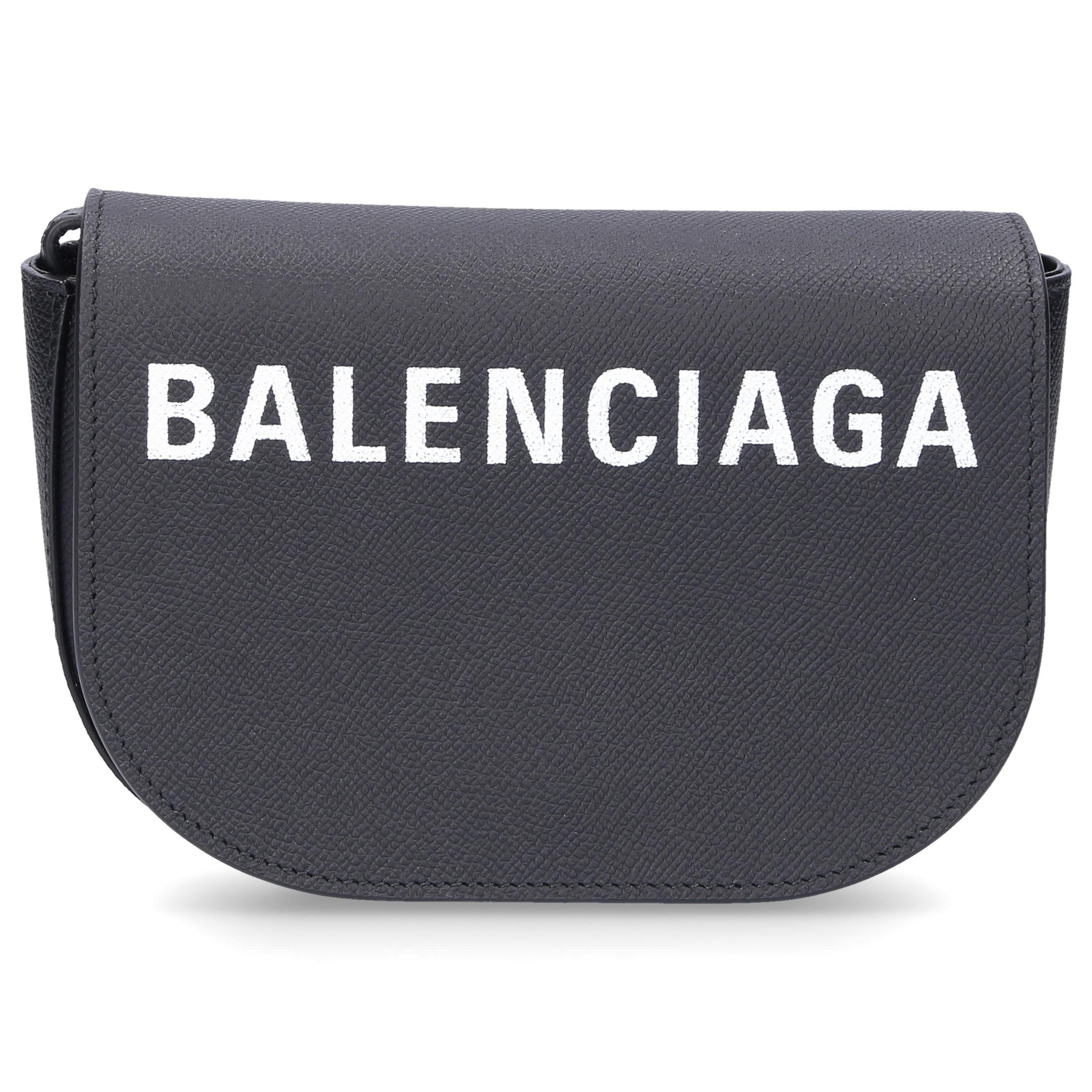 163bb9abd Balenciaga - Handbag Ville Day Xs Leather Logo Black - Lyst. View fullscreen