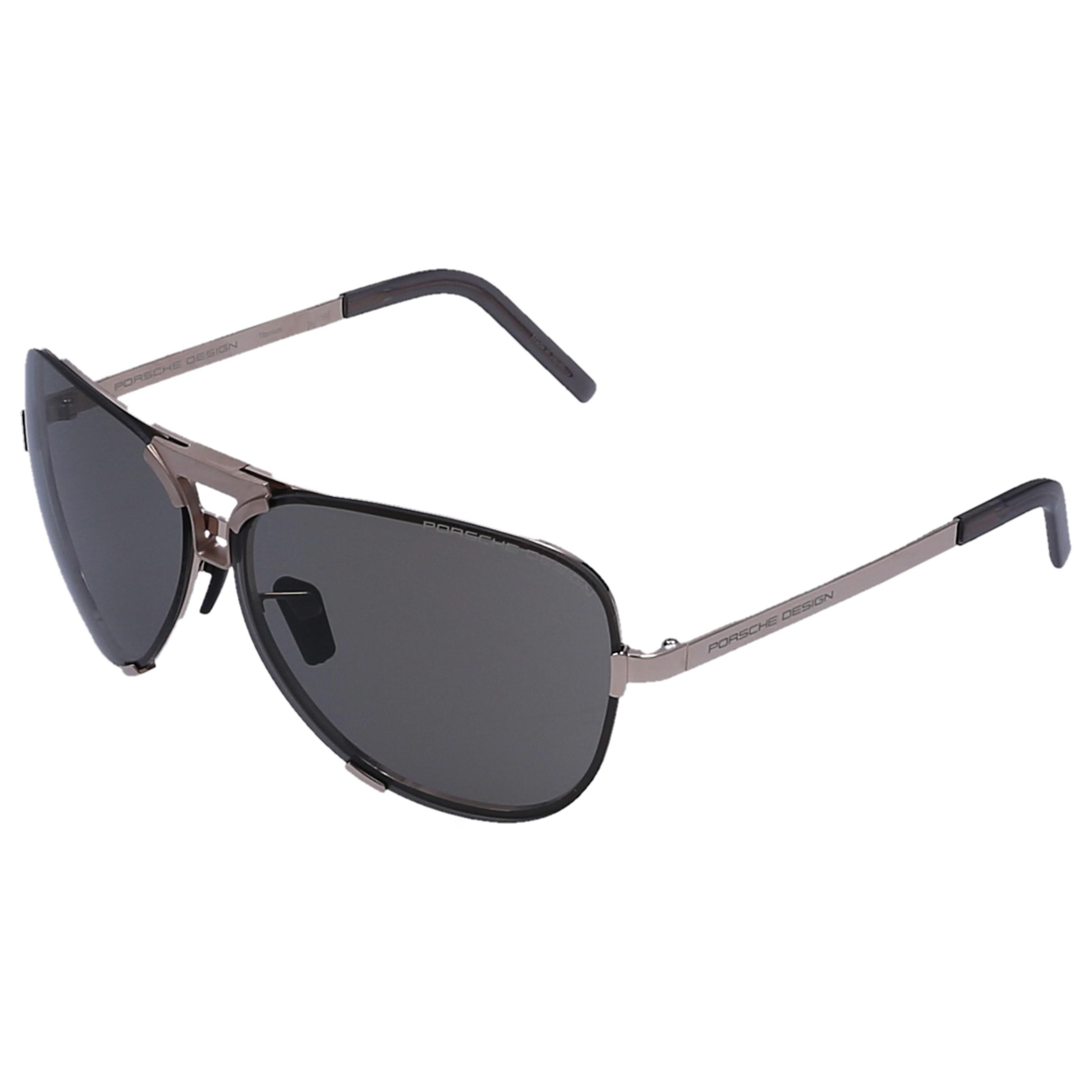 611e3a350ea Porsche Design - Metallic Men Sunglasses Aviator 8678 Titan Acetate Gold for  Men - Lyst. View fullscreen