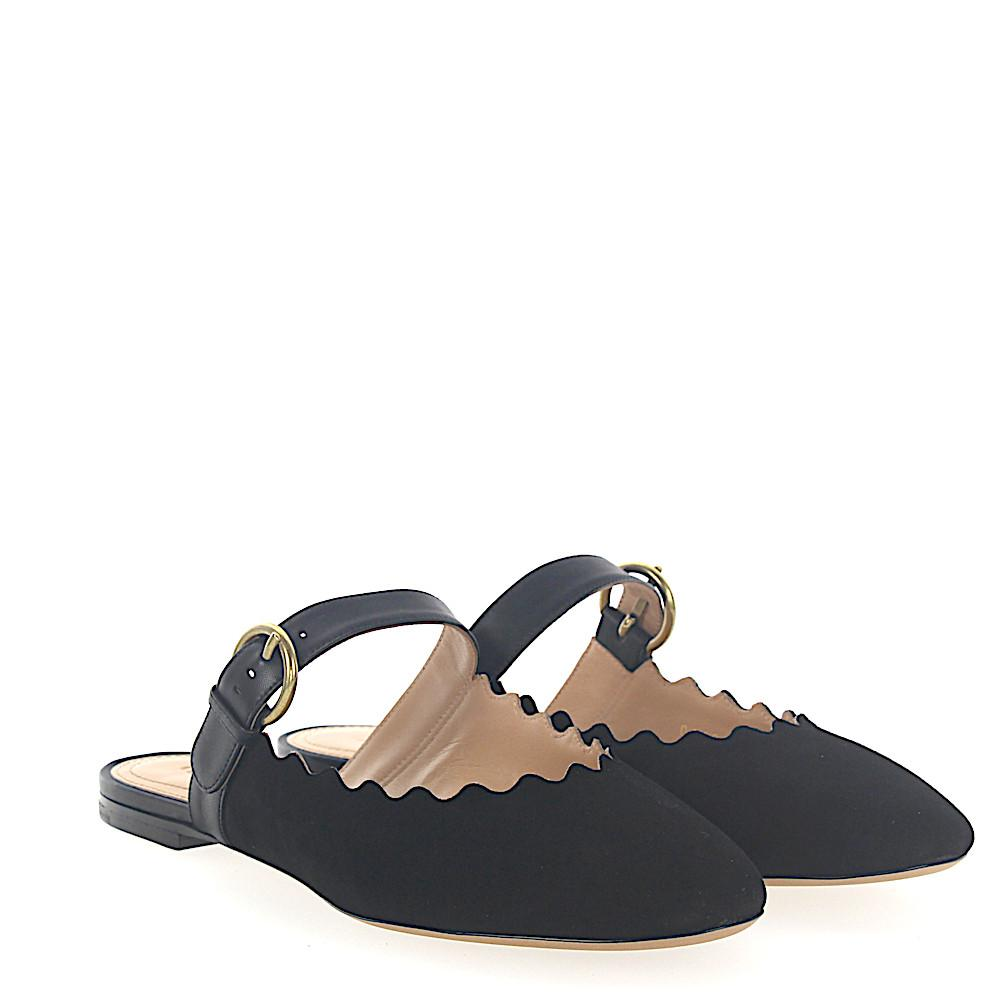 Chloé Ballerinas LAUREN suede nappa leather Discount For Cheap 2018 New Cheap Price Clearance With Paypal Sale Genuine Popular Sale Online uW1ZbRr