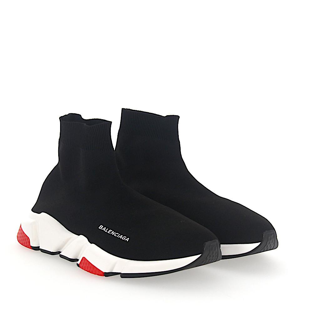 BalenciagaSneaker high Slip-On W05G0 Mesh schwarz