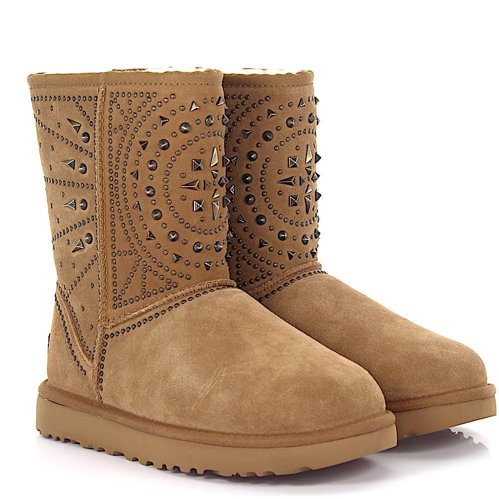 UNüTZER Ankle boots Boots 1978 Suede leather taupe lambskin VJpfQ4dahn