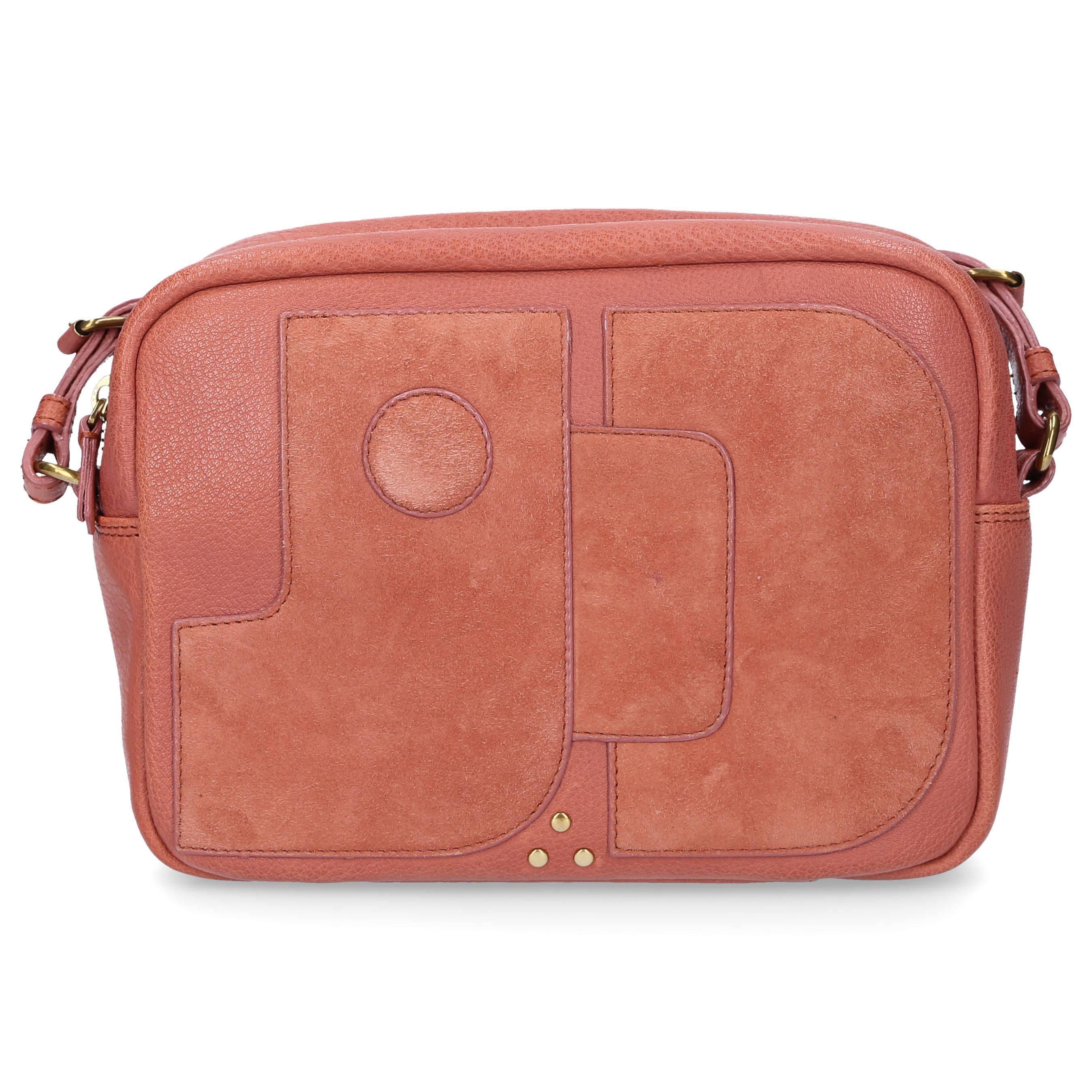29ba9a800e Jérôme Dreyfuss Women Handbag Dominique Leather Logo Pink in Pink - Lyst