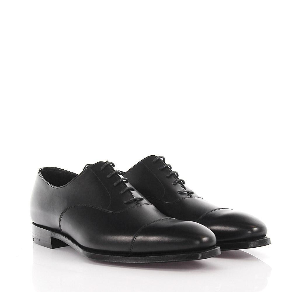 Oxford Harewood 2 leather black Crockett & Jones oFA24aI6y