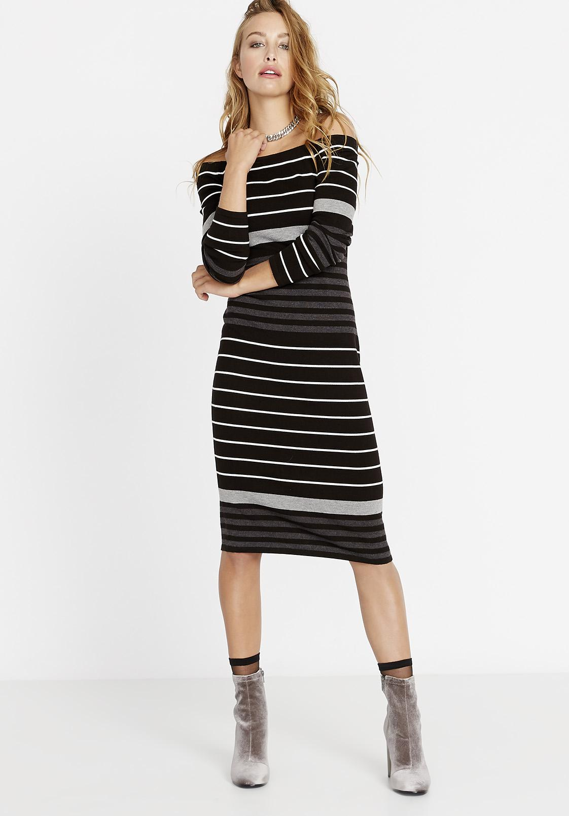 24b2ef9ac1b Gallery. Previously sold at  Buffalo David Bitton · Women s Off The Shoulder  Dresses