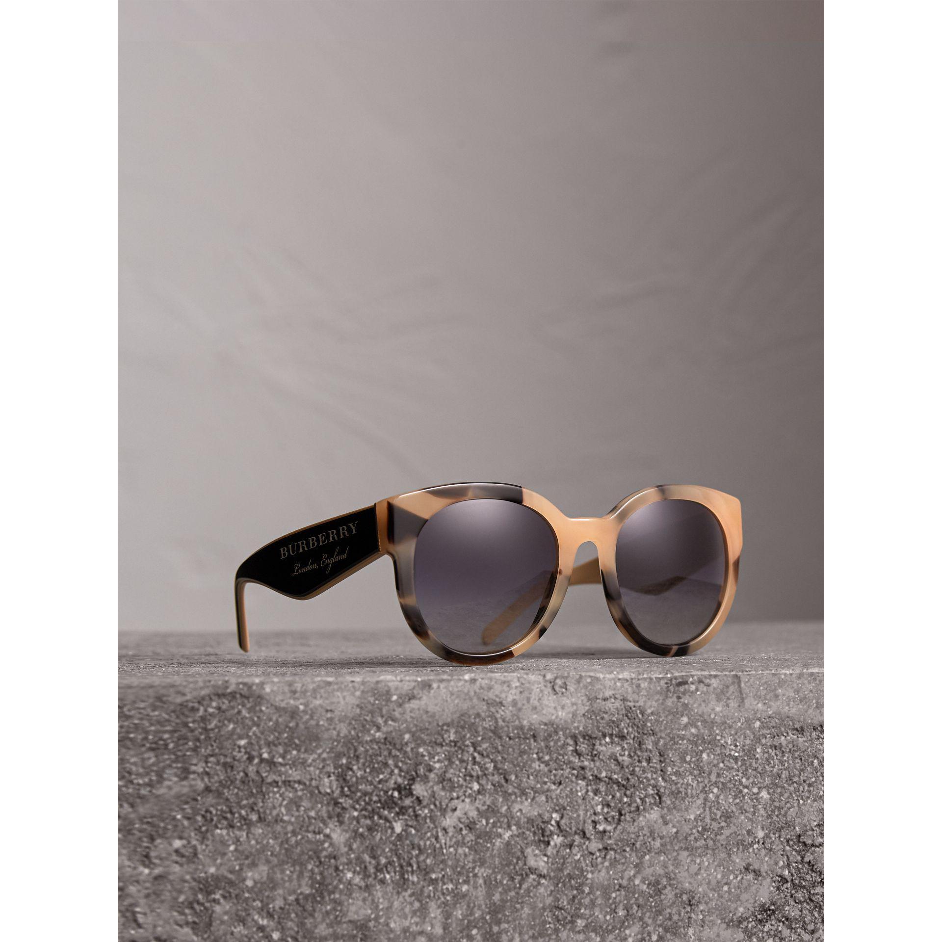9a566c64108 Burberry. Women s Round Frame Sunglasses