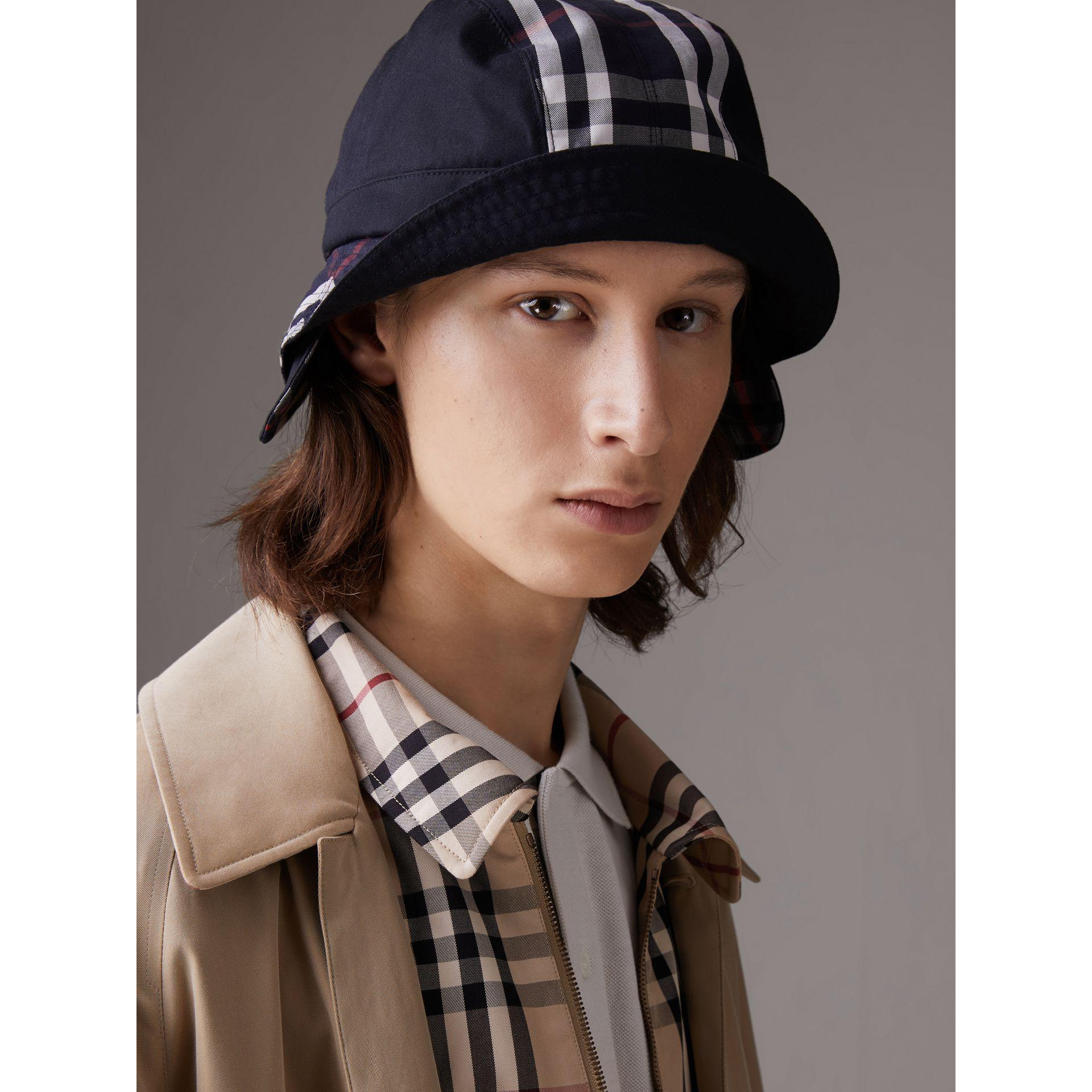 2b43e640212 Lyst - Burberry Gosha X Bucket Hat in Blue for Men