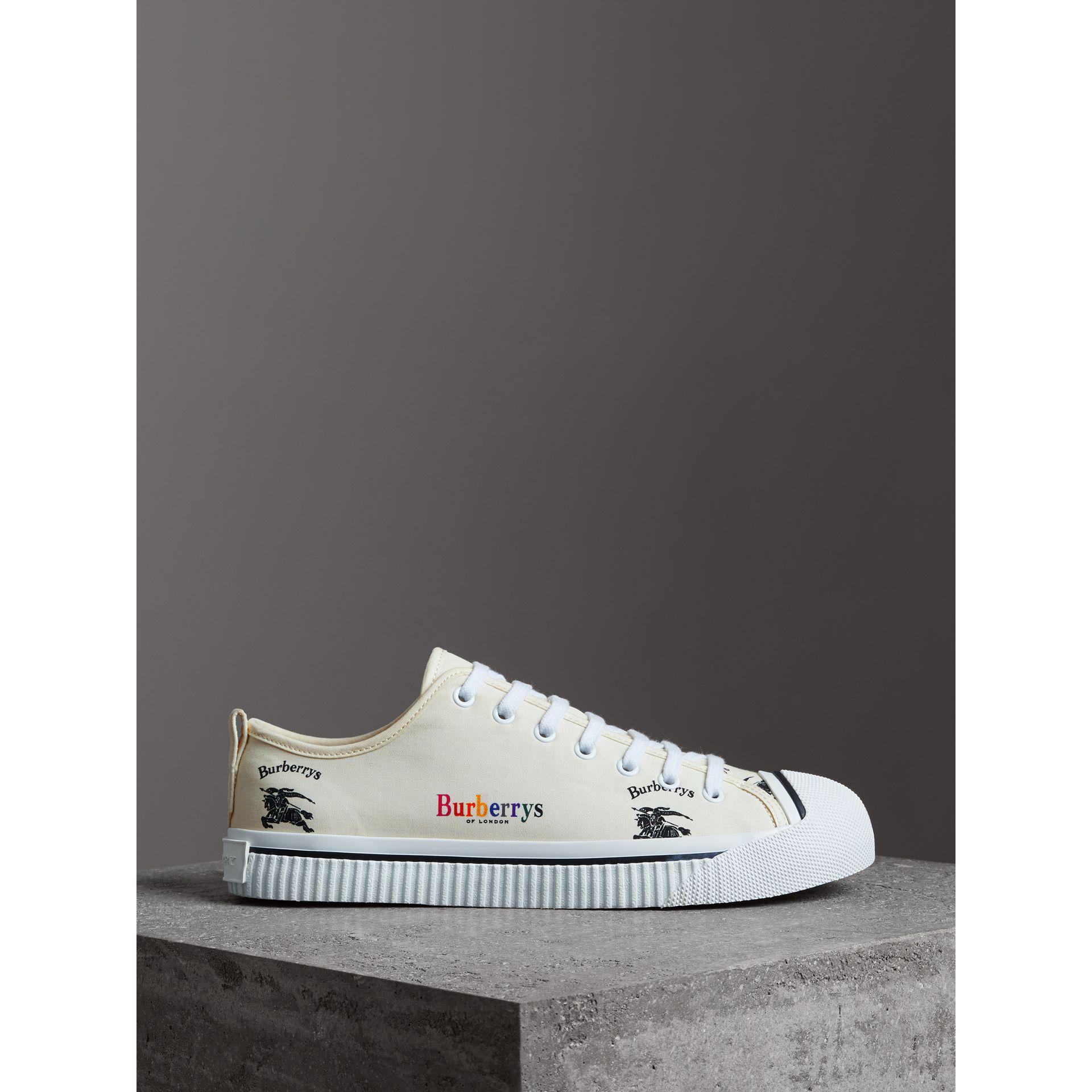 buy online 789b7 b4cca burberry-OFF-WHITE-Archive-Logo-Cotton-Gabardine-Sneakers.jpeg