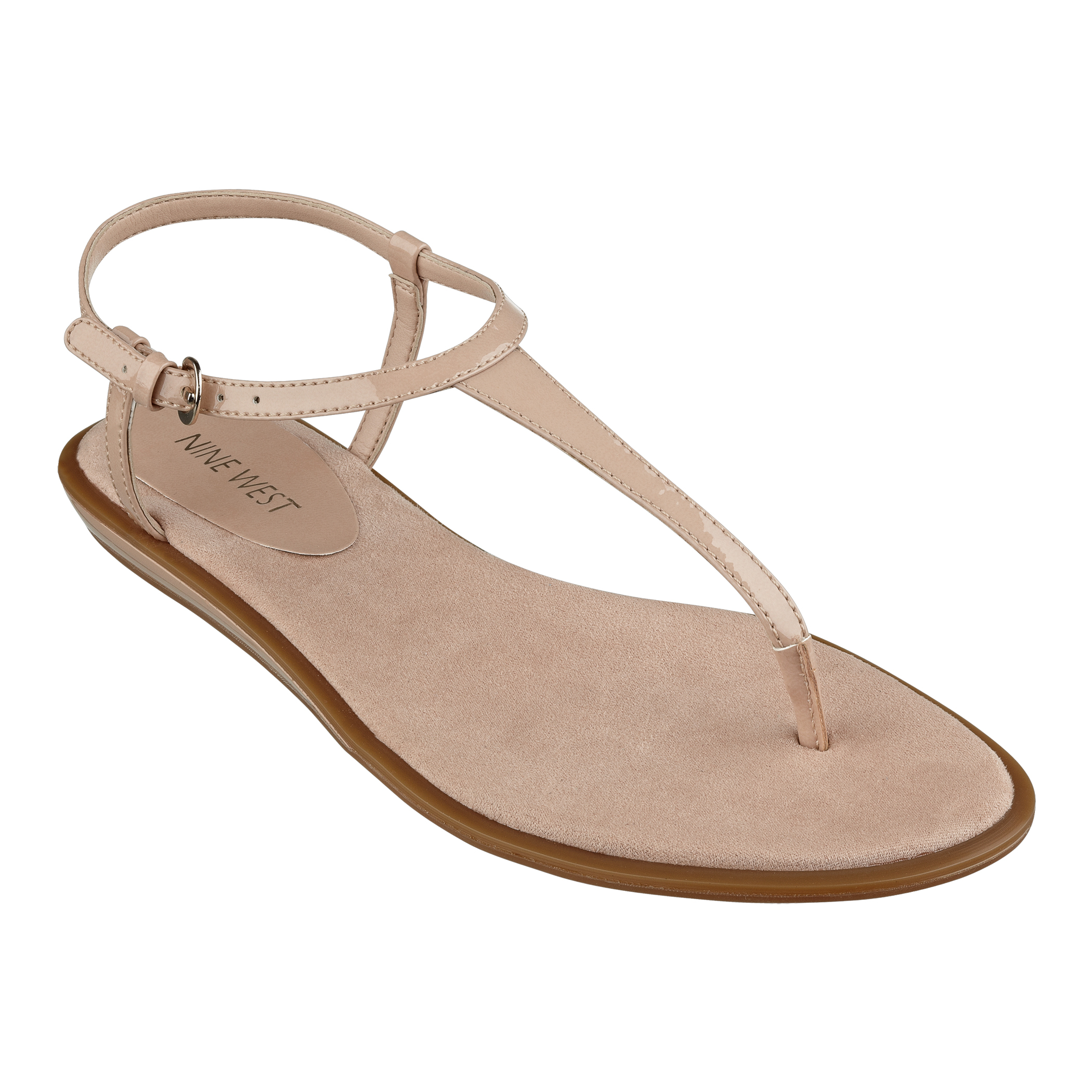 8e49646a1a56 Lyst - Nine West Venga Sandal in Natural
