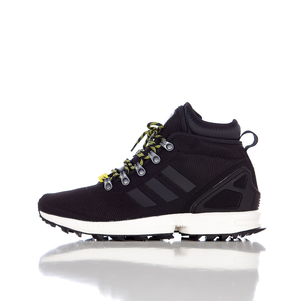 100% authentic 0e3b4 e3ca2 adidas Zx Flux Winter Mesh Boots in Black for Men - Lyst