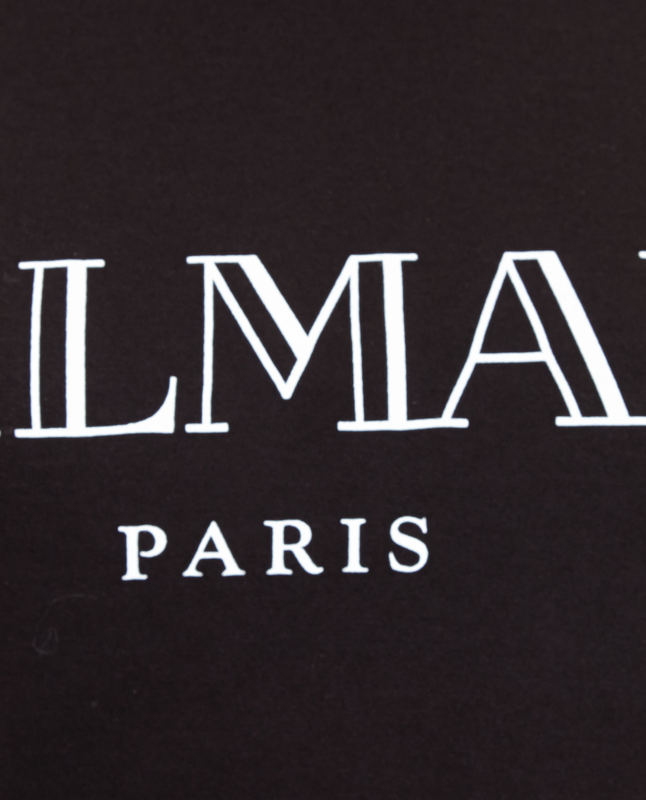 Balmain Logo T Shirt In Black Lyst