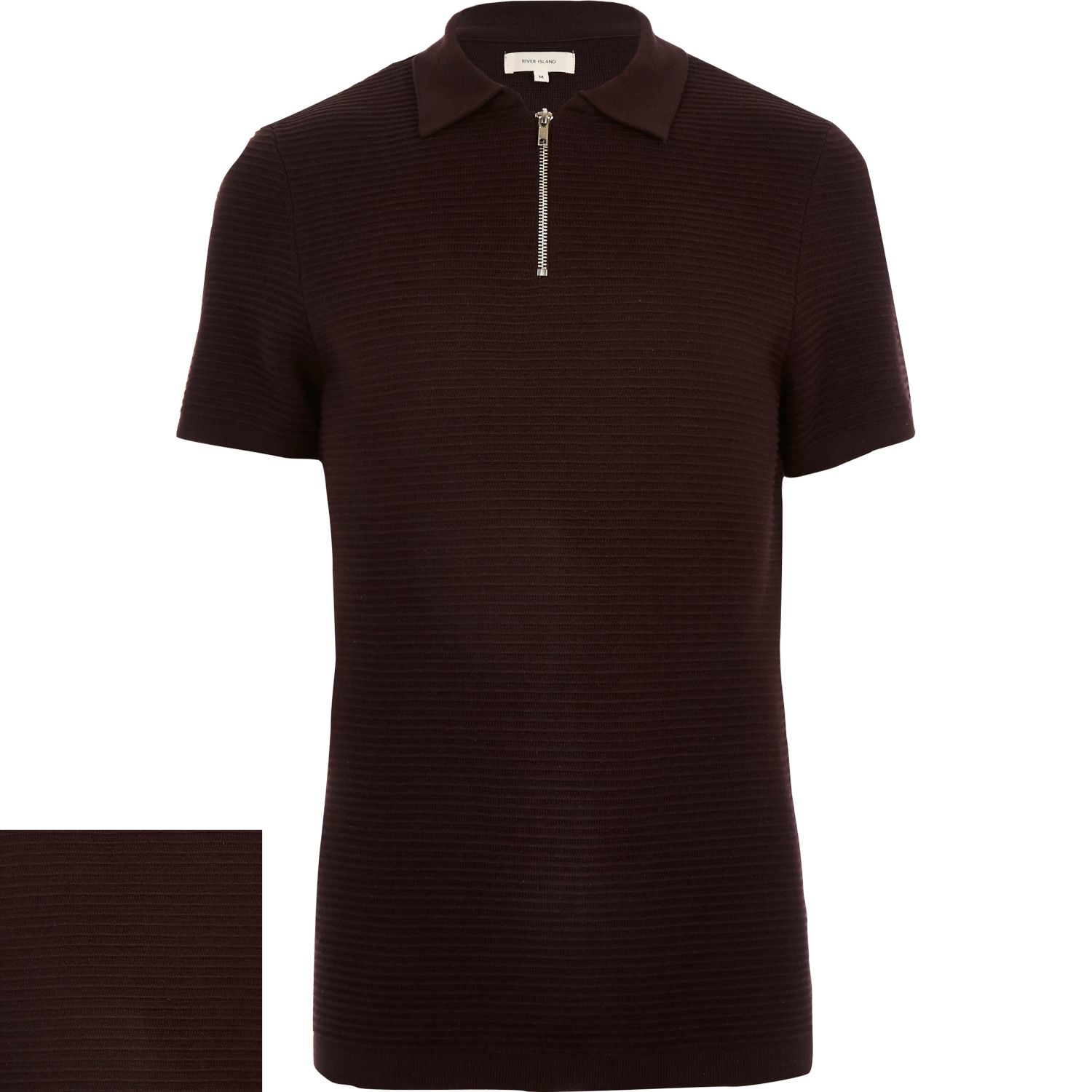 Purple Mens Polo Shirt