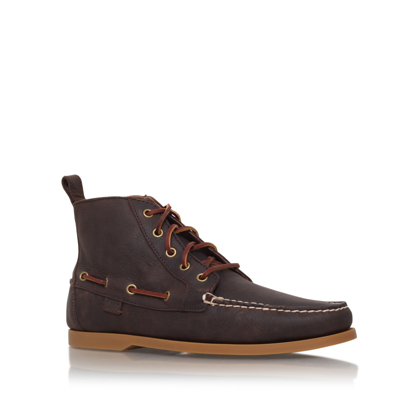polo ralph barrot boot in brown for lyst
