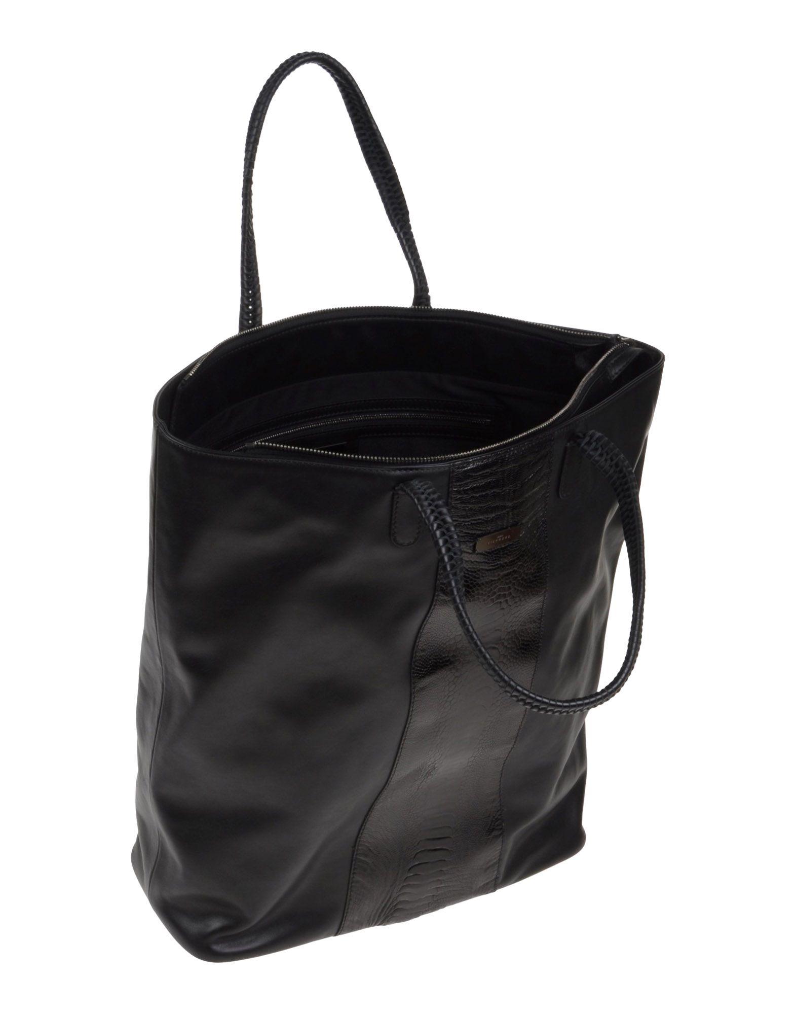 John richmond Handbag in Black for Men