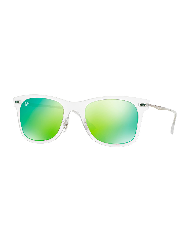 ray ban wayfarer matte green