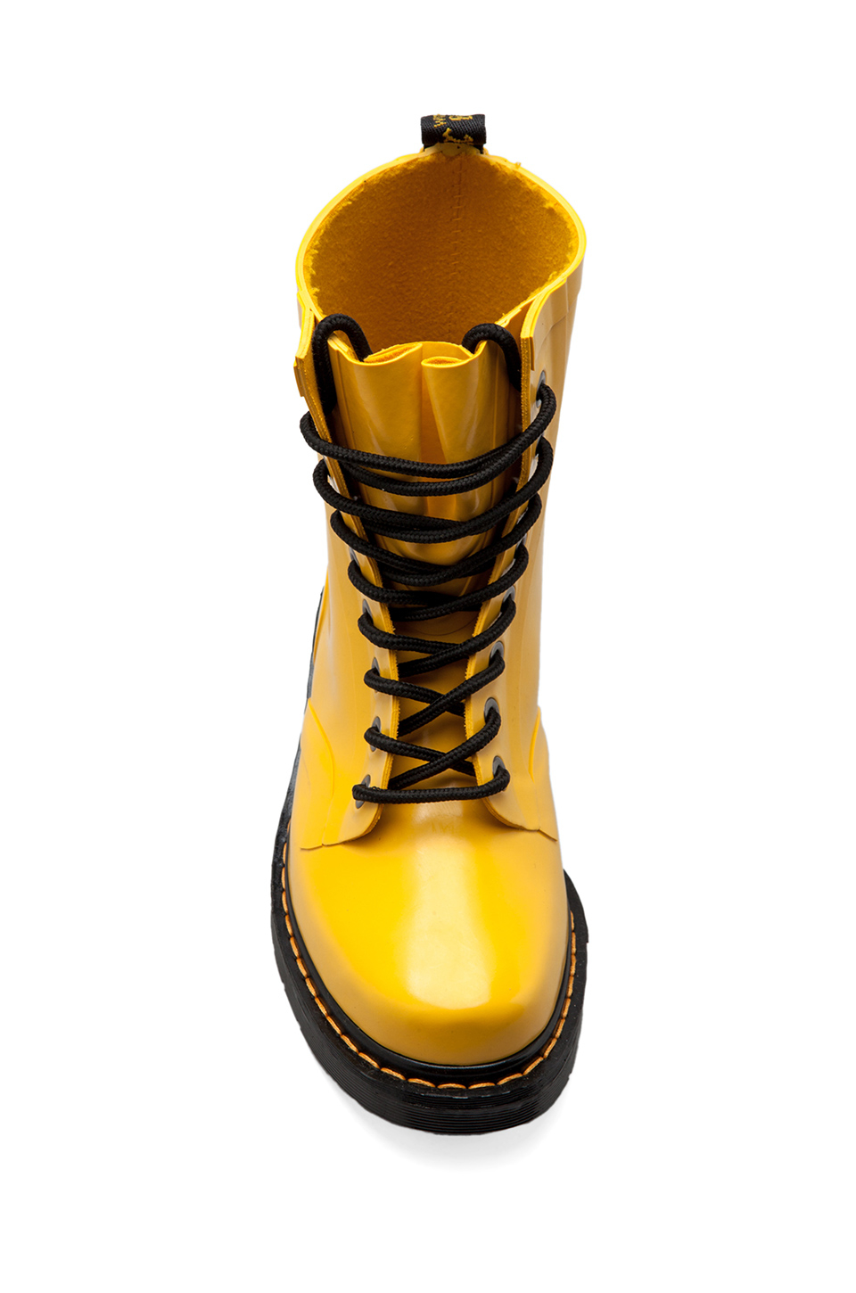 Dr. martens Drench 8eye Rain Boot in Yellow in Yellow   Lyst