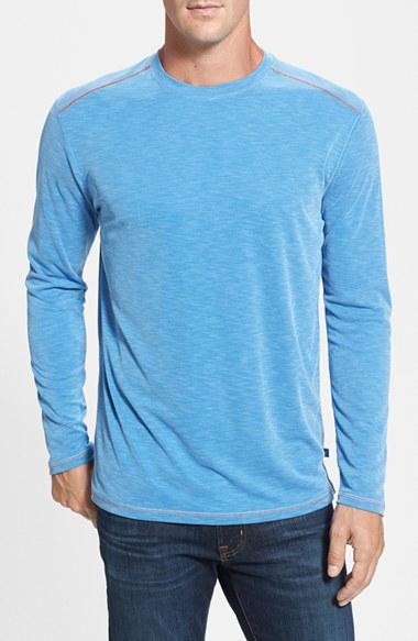 Lyst tommy bahama 39 paradise around 39 long sleeve t shirt for Tommy bahama long sleeve dress shirts