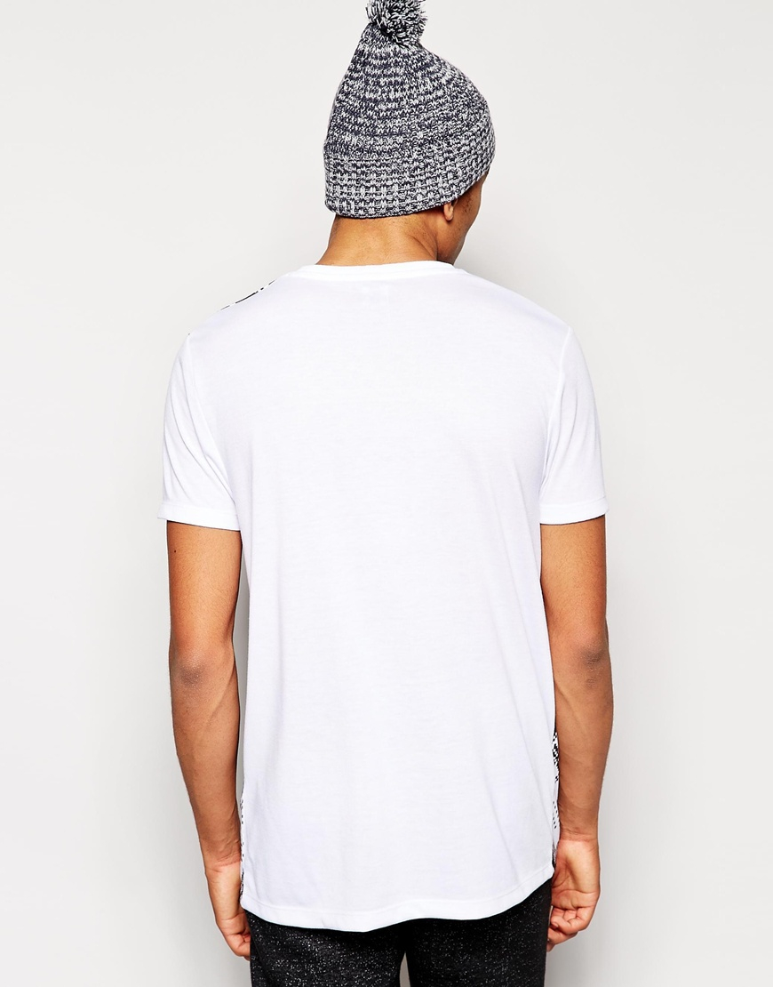 Lyst Asos T Shirt With Holidays Fair Isle Print And