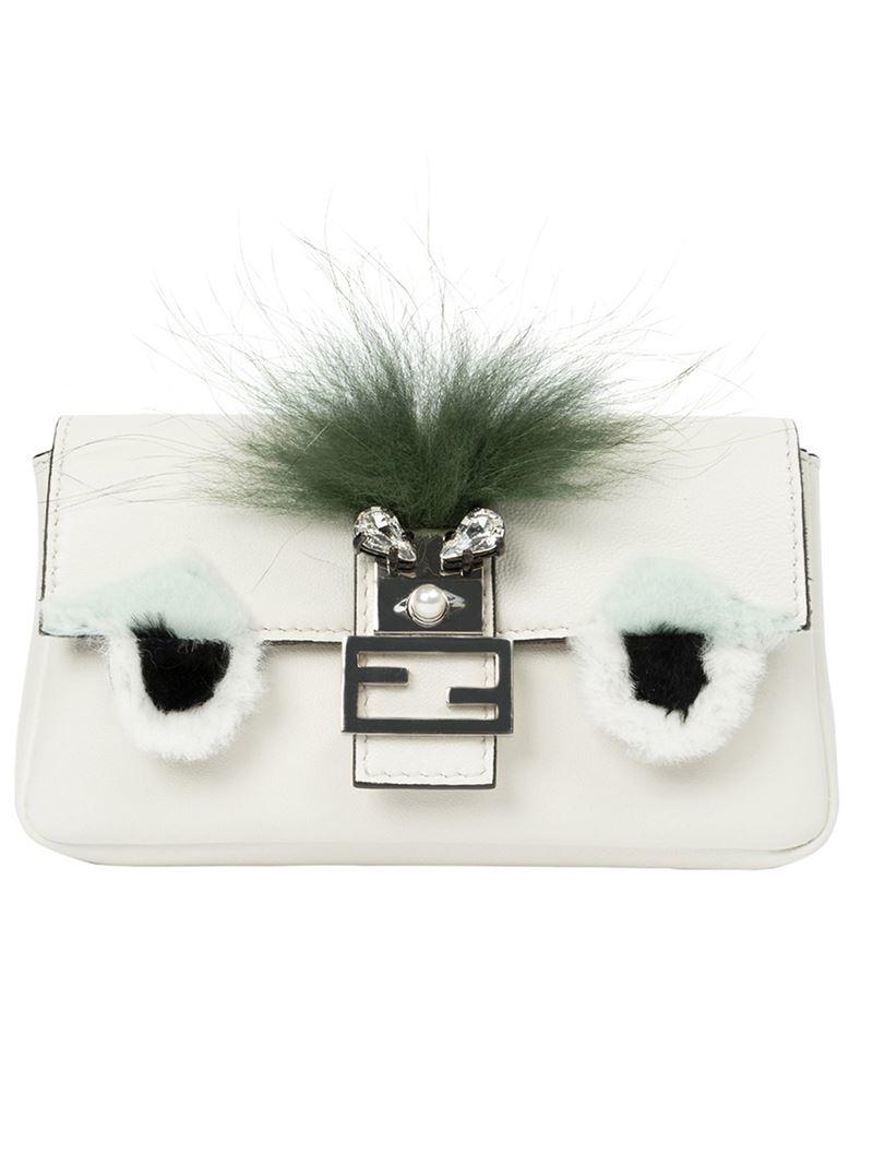 9b593a2731 Gallery. Previously sold at: Farfetch · Women's Fendi Bag Bugs Women's  Fendi Baguette
