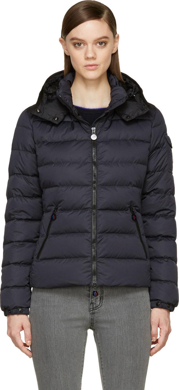 moncler black bady jacket