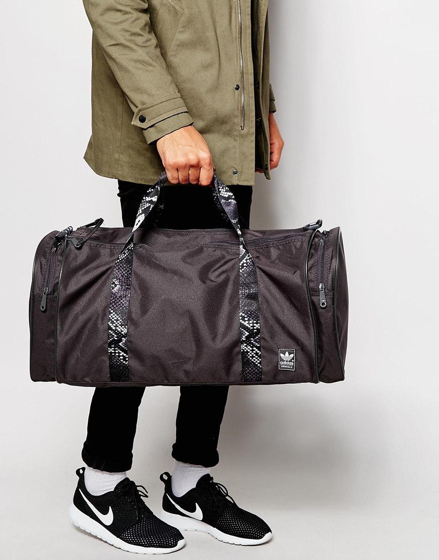 d5fb654788 Lyst - adidas Originals Classic Team Duffel Bag Ab2763 in Gray for Men