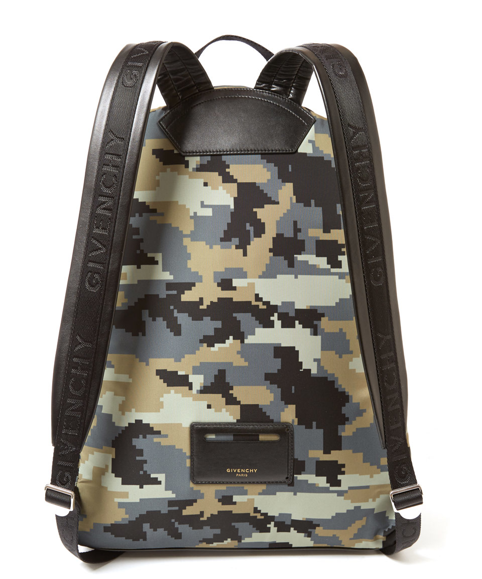 Lyst - Givenchy Camouflage Digital Camouflage Print Nylon Backpack ... 720f8d1f7a