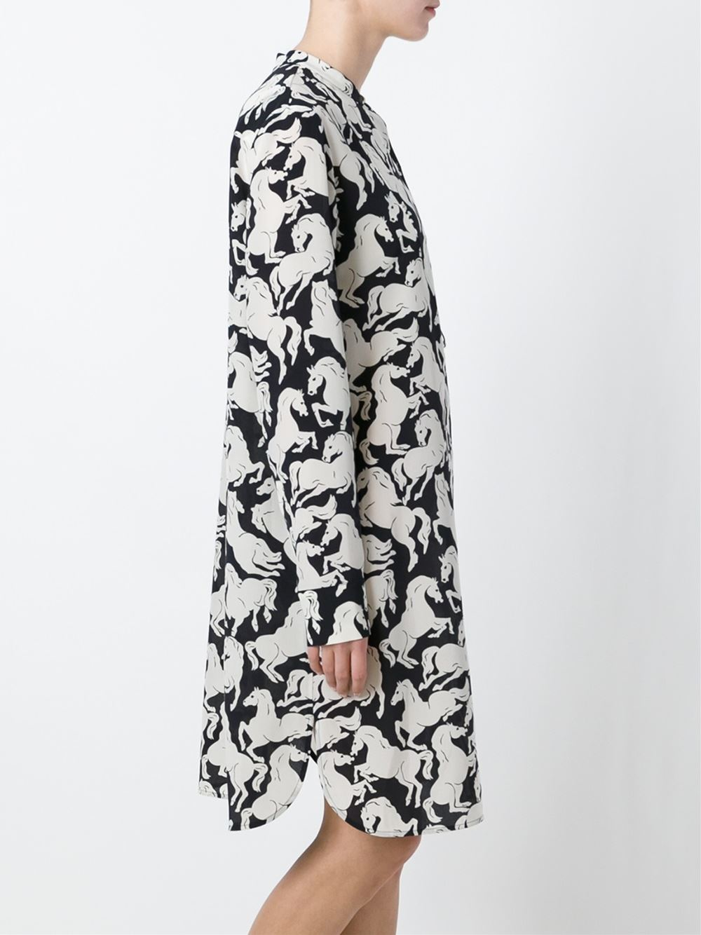 Stella Mccartney Horse Print Dress Lyst