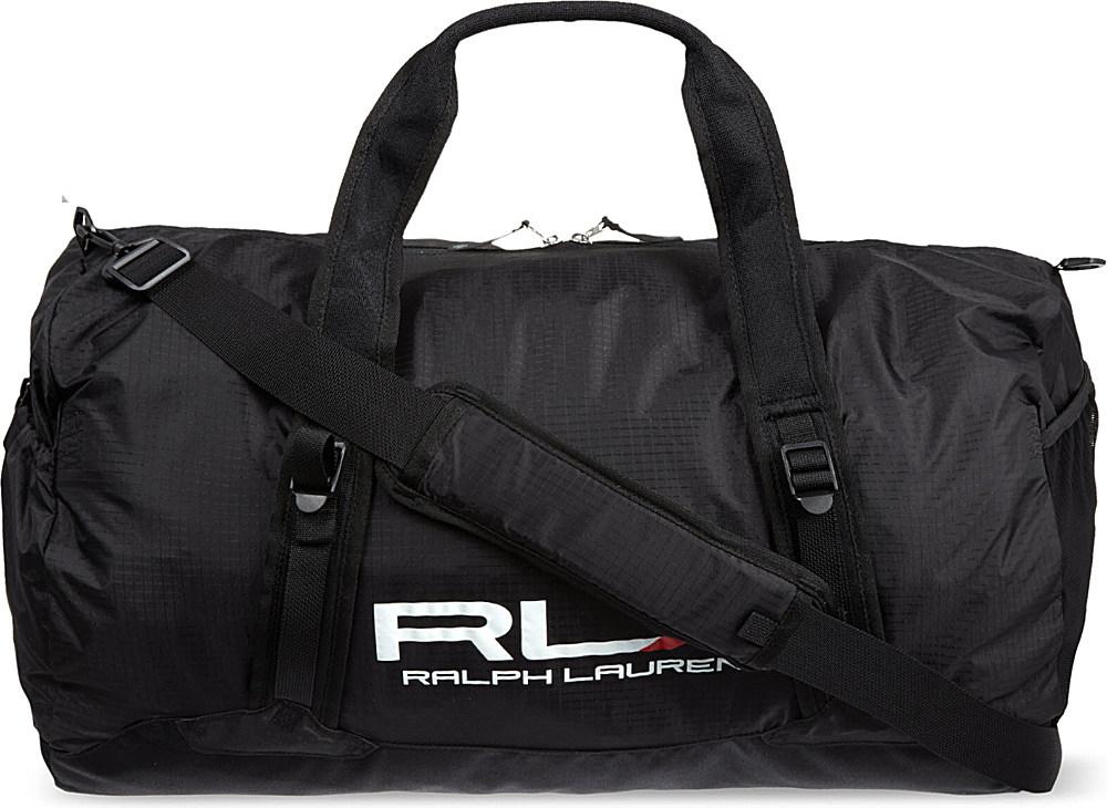 0689d0cf15 Ralph Lauren Rlx Packable Duffle Bag Black in Black for Men - Lyst