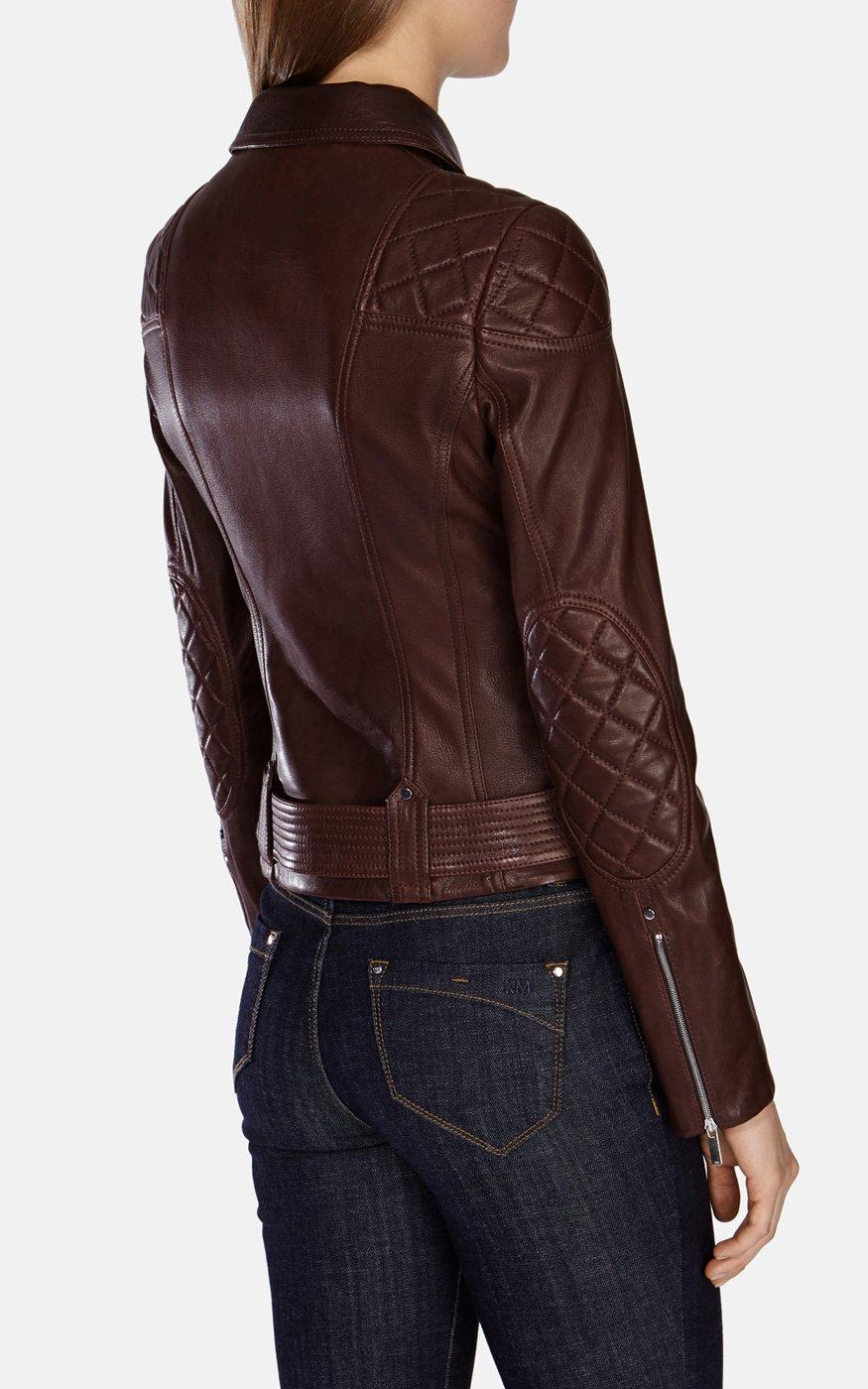 Karen o leather jacket