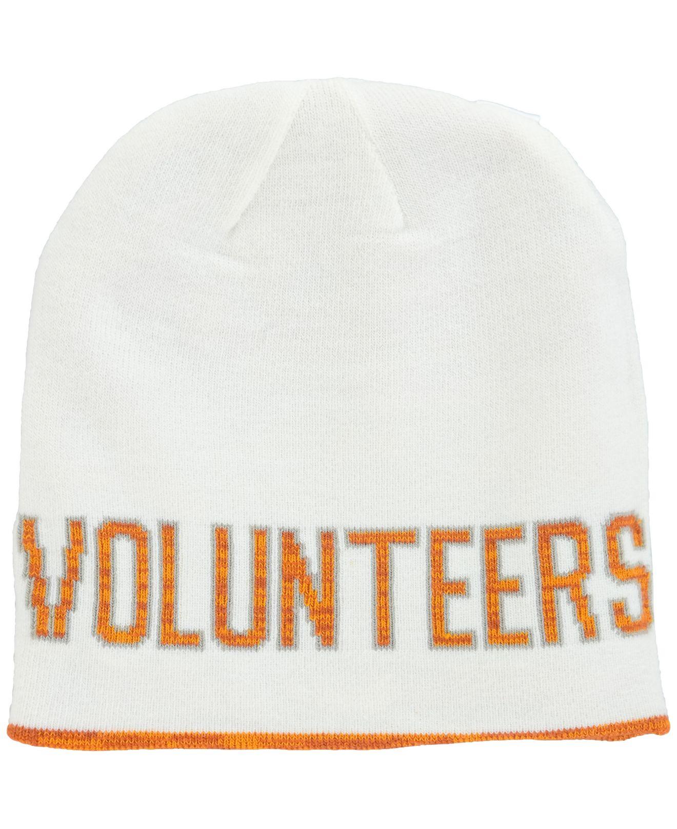 half off 95cee c6227 Nike Tennessee Volunteers Reversible Beanie Knit Hat in Orange for ...