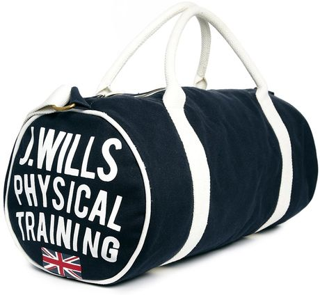 Jack Wills Gym Bag in Blue (Navy)