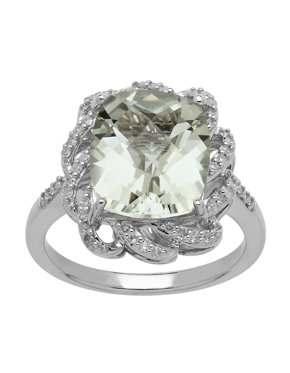 lord sterling silver green amethyst and