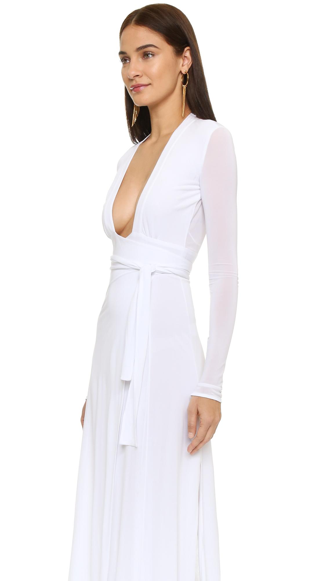 Lyst Issa Dottie Gown In White