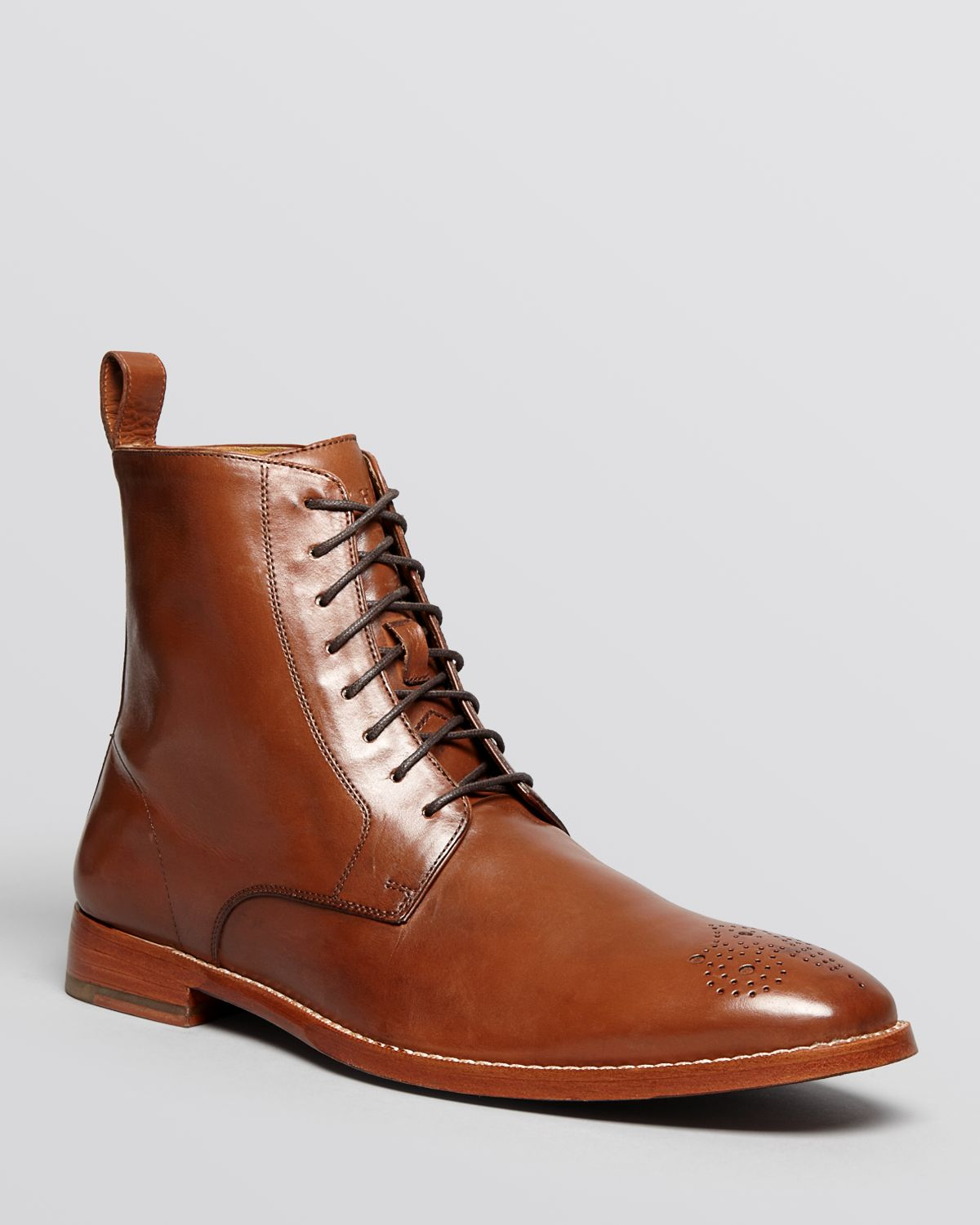 cole haan lionel dress boots in brown for lyst