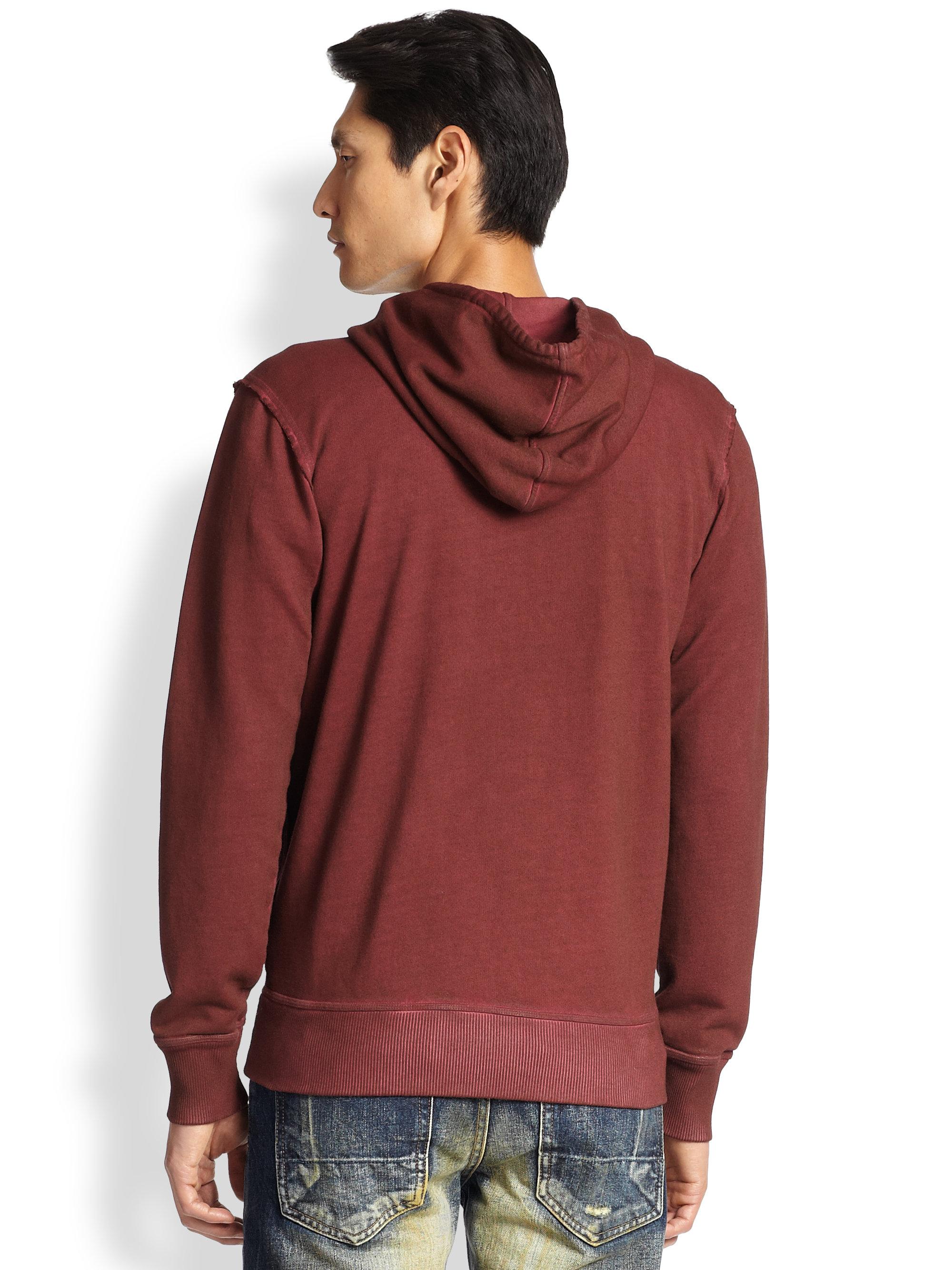 Purple zip up hoodie