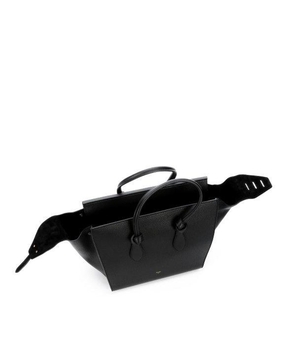 celine black cloth clutch bag