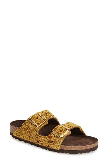 birkenstock arizona gold nordstrom
