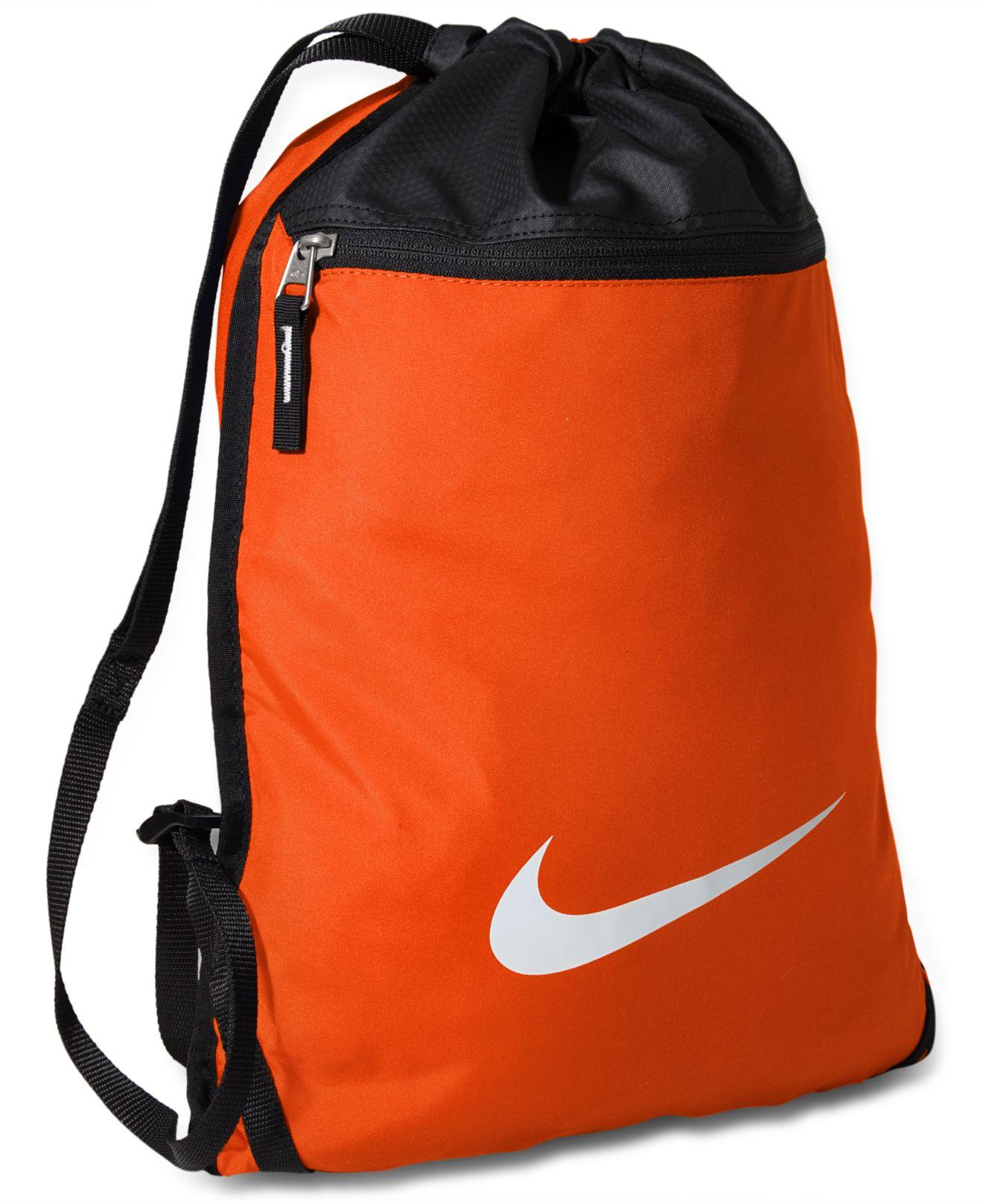 Lyst - Nike Team Training Gymsack Bag in Blue for Men f5832b80316b0