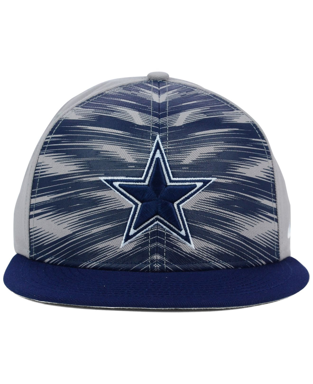 016f2533771 ... sideline bobble hat d0580 910da  official lyst nike dallas cowboys  gameday true cap in gray for men 13977 7291c