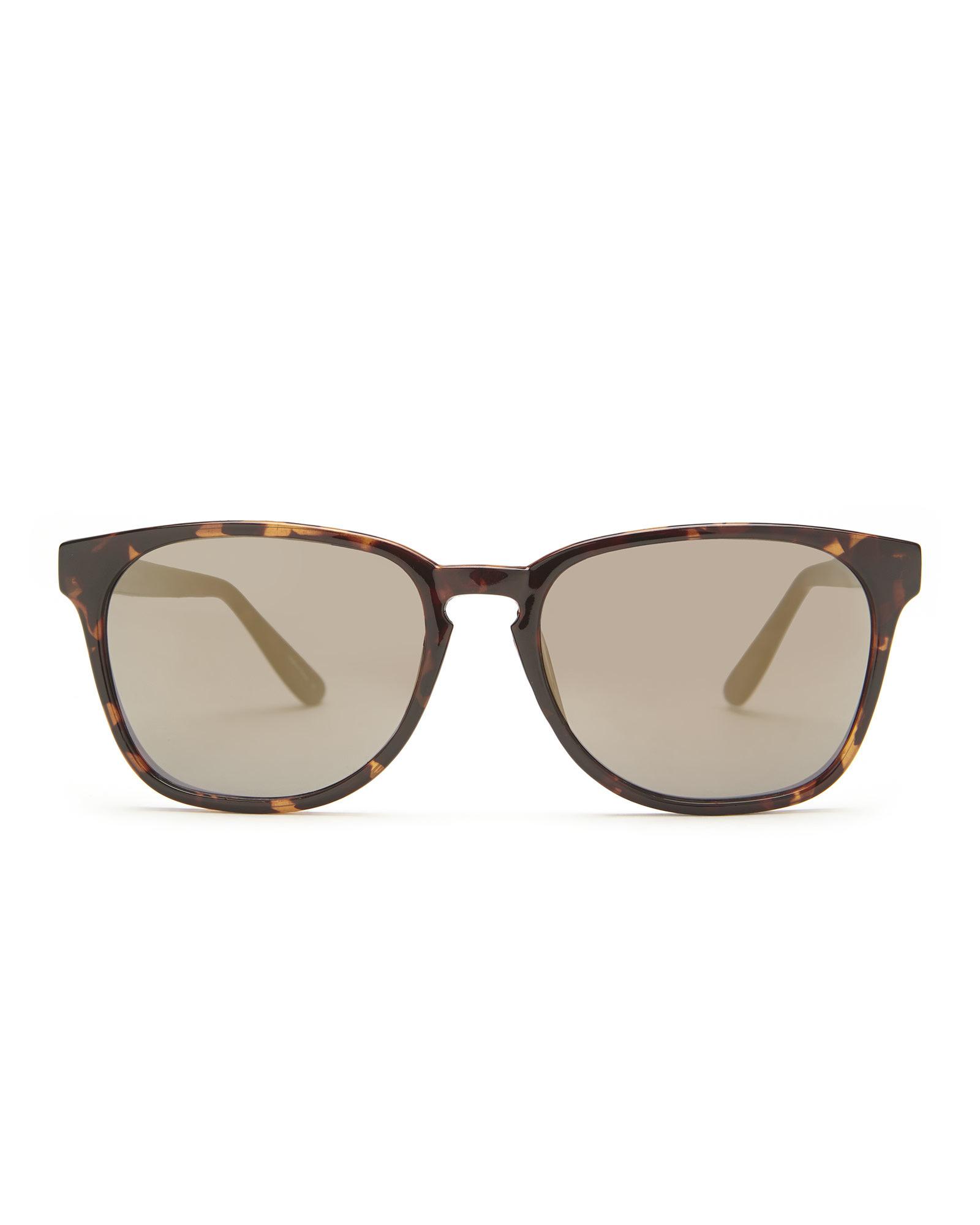 Cole Han Sunglasses  cole haan c7048 tortoises look wayfarer sunglasses in brown