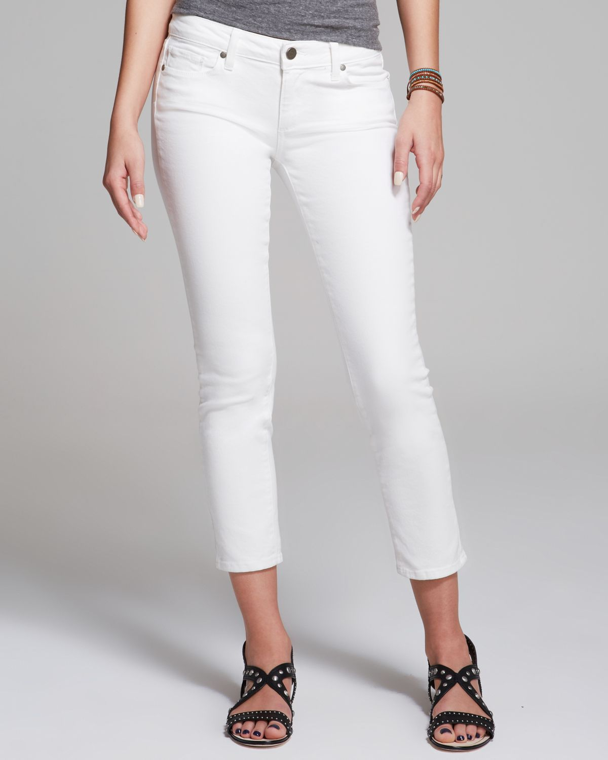 8821c106430 Gallery. Previously sold at: Bloomingdale's · Women's White Jeans