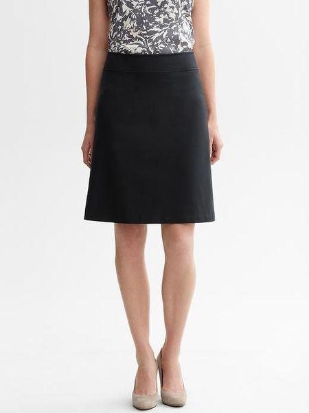 banana republic sleek suit a line skirt in black lyst