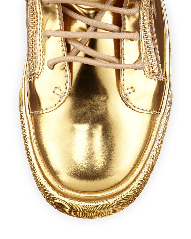 giuseppe zanotti fringe sneakers for men